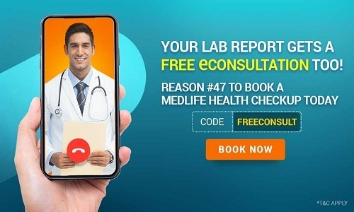 Flat 60% discount on Health Check-up Packages